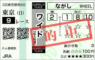 大阪競馬ストーリー・馬券